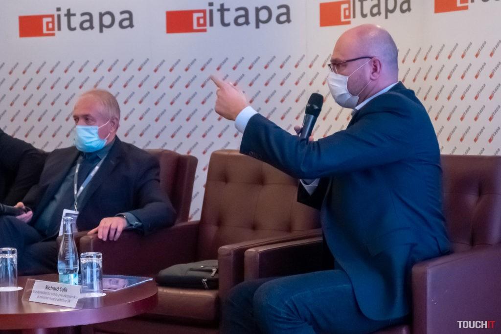 Minister hospodárstva Sulík v ostrej diskusii so šéfom ITASu Fitošom