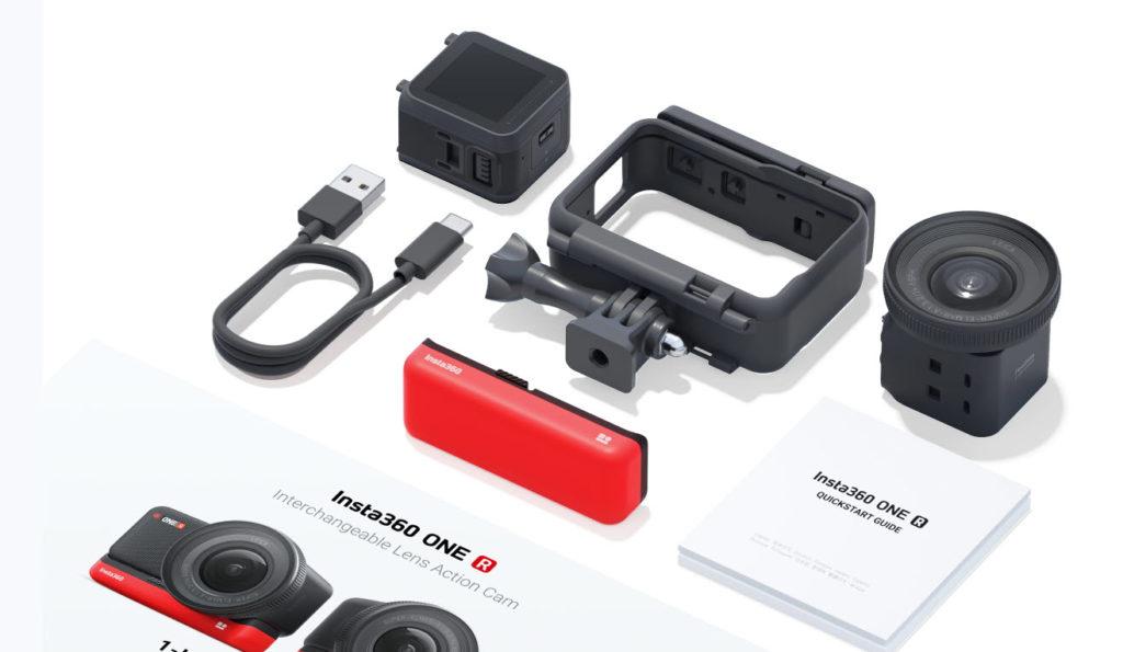 Obsah dodávky Insta360 One R 1-inch Edition