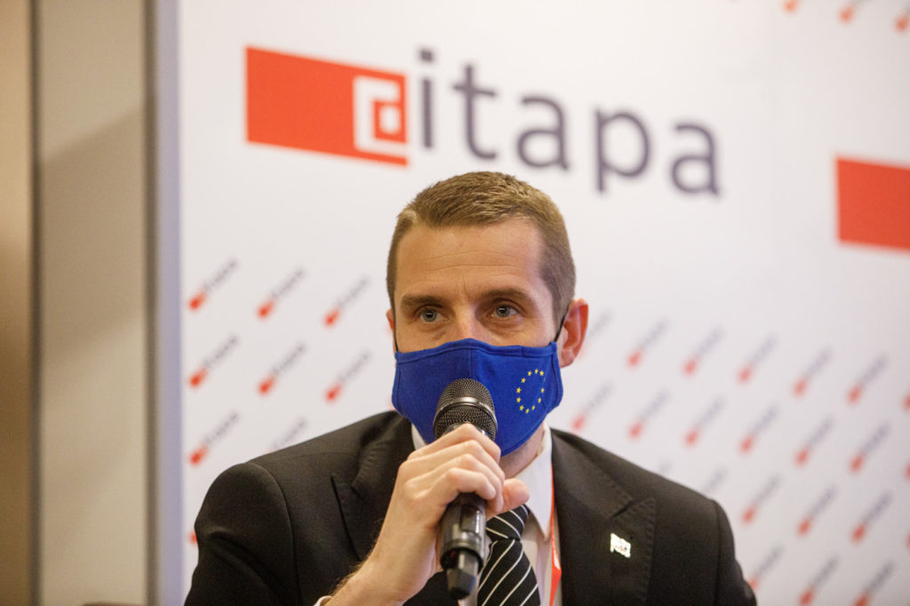 Martin Kľus na konferencii ITAPA