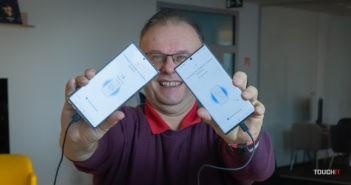SmartSwitch pri káblovom prepojení starého a nového telefónu