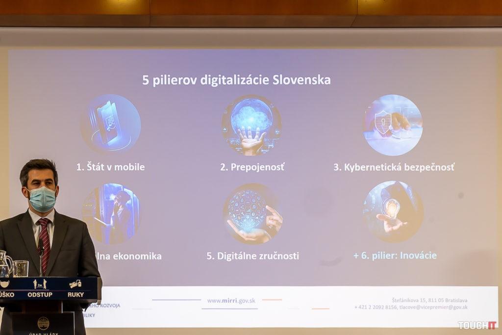 Piliere pre Digitálne Slovensko