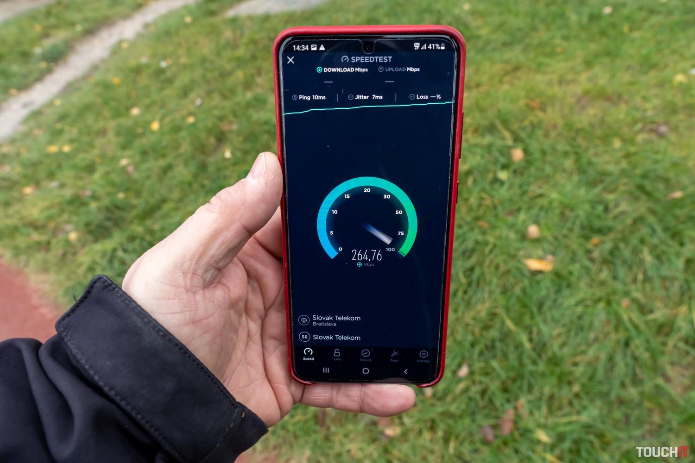 Testovali sme 5G sieť Telekomu v Bratislave