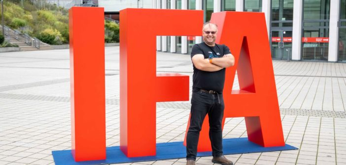 Ondrej Macko na výstave IFA