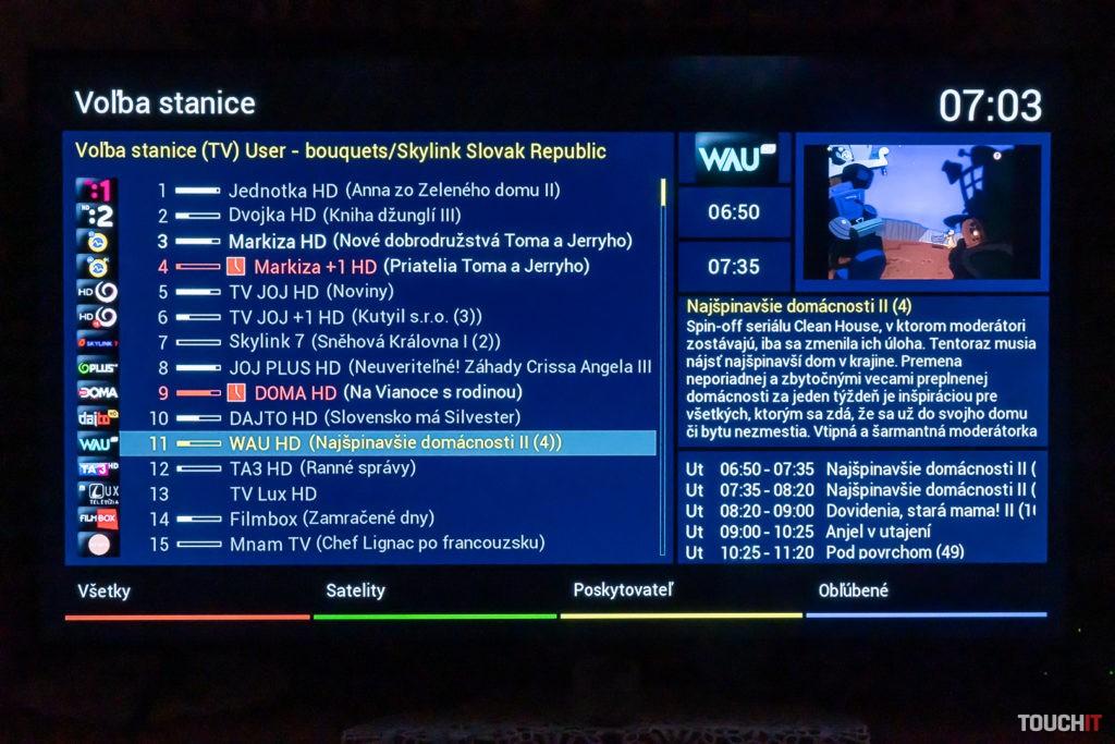 VU+ Zero a zobrazenie súčasne nahrávaných programov