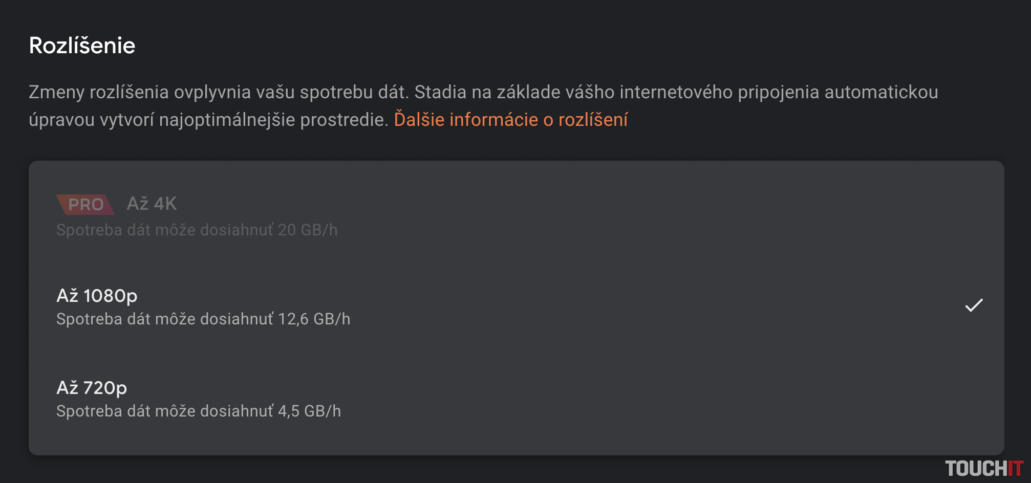 Google Stadia je na Slovensku