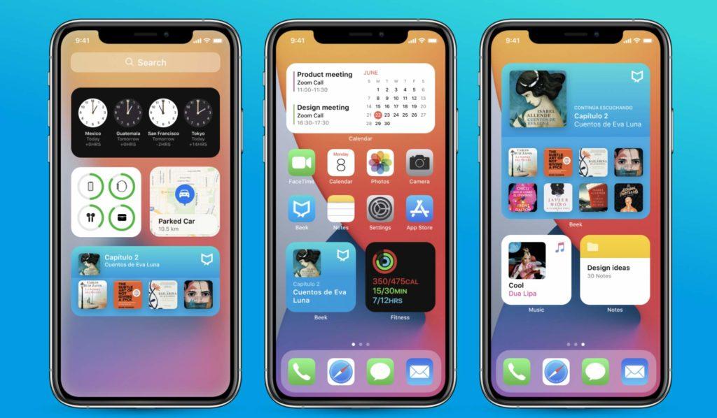 Widgety na iOS