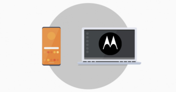 Motorola pracovná plocha