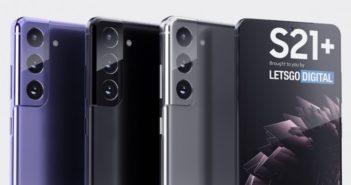 Farebné verzie smartfónu Samsung Galaxy S21+