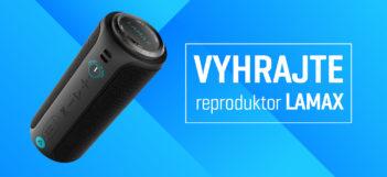 SÚŤAŽ: Vyhrajte bezdrôtový reproduktor Lamax Sounder2