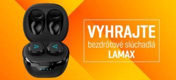 SÚŤAŽ: Vyhrajte bezdrôtové slúchadlá Lamax Dots2