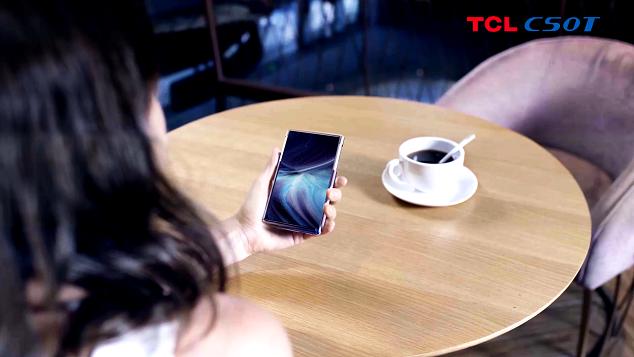 Rolovateľný displej v smartfóne TCL