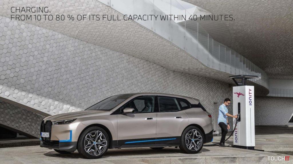 Nabíjanie BMW iX