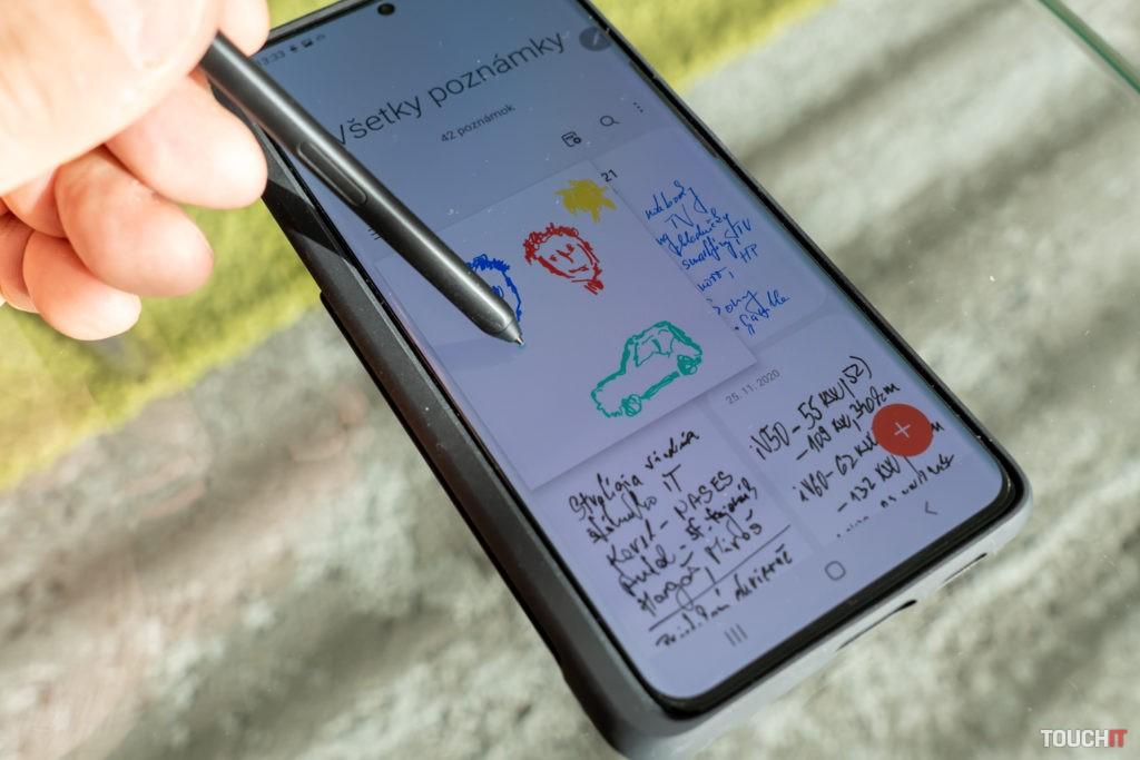 Poznámky na Galaxy S Pen