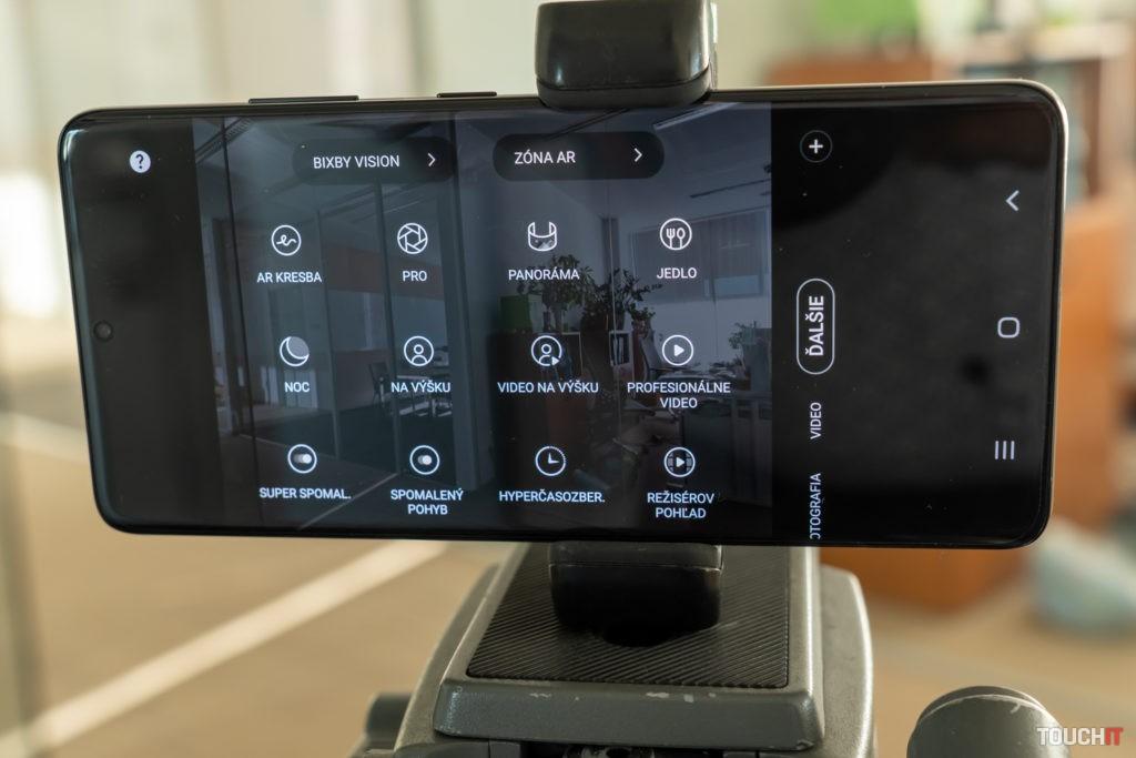 Rozširujúce možnosti pri fotení a realizácii videa na Galaxy S21 ULTRA