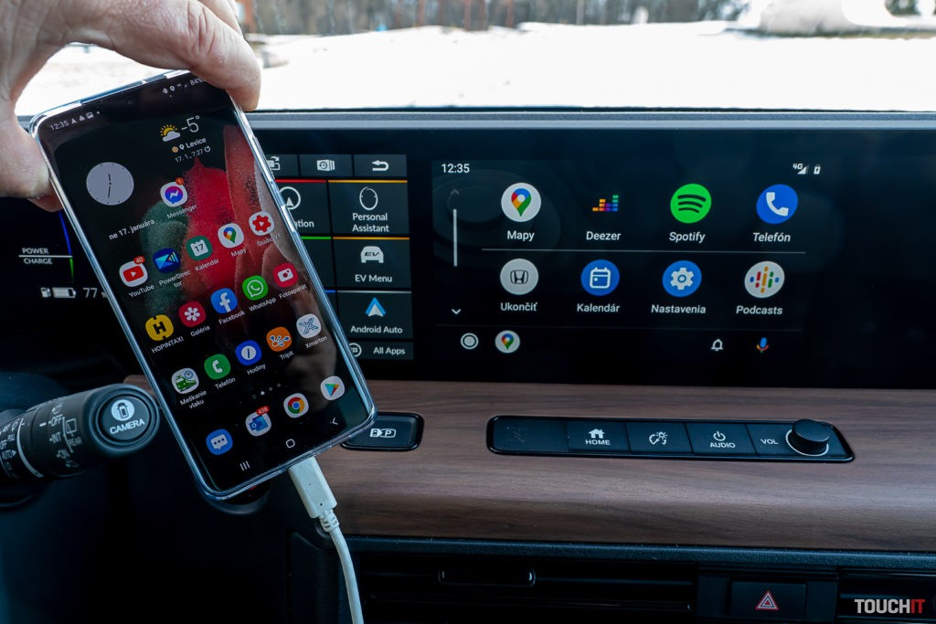 Galaxy S21 ULTRA a Android Auto