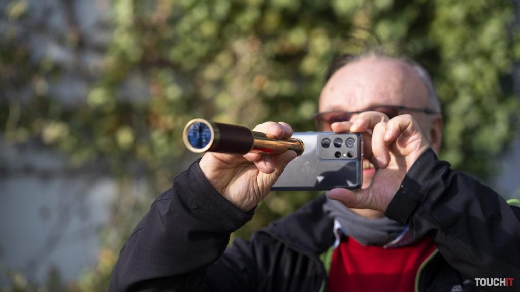 Galaxy S21 ULTRA dobre použijete na fotografie s obrovským priblížením