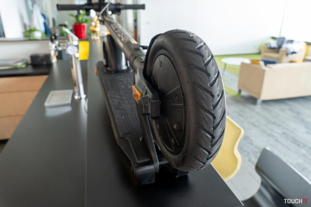Kolobežka Origos xC1 a zadné koleso
