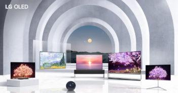 Rodina OLED 2021 televízorov od LG