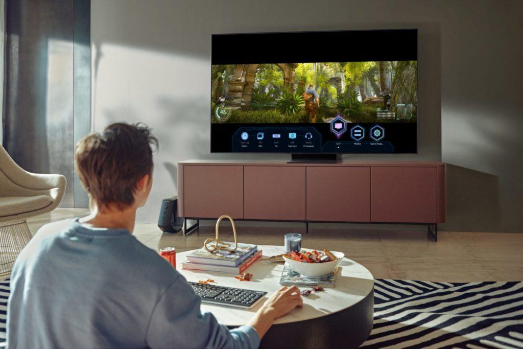 Game Bar na televízore Neo QLED prináša hráčom viac zábavy