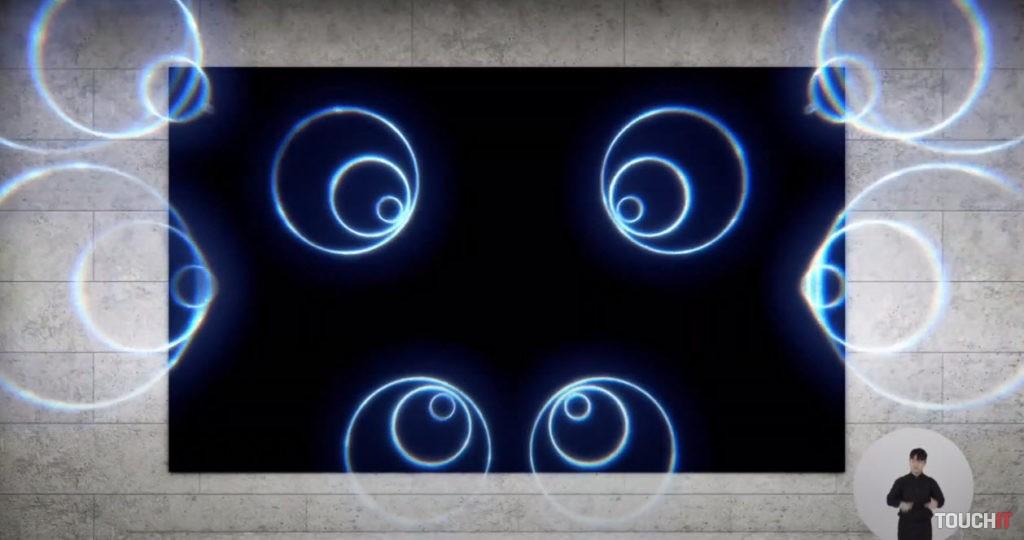 Priestorové šírenie zvuku na MicroLED televízore