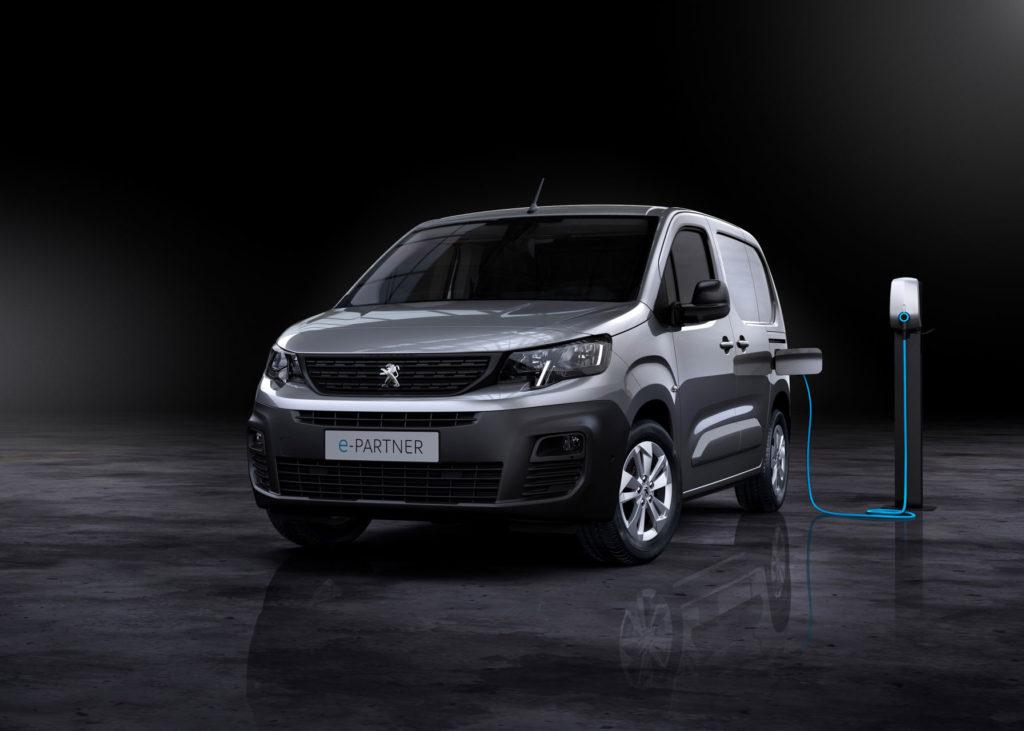Peugeot ePartner, Zdroj: Peugeot