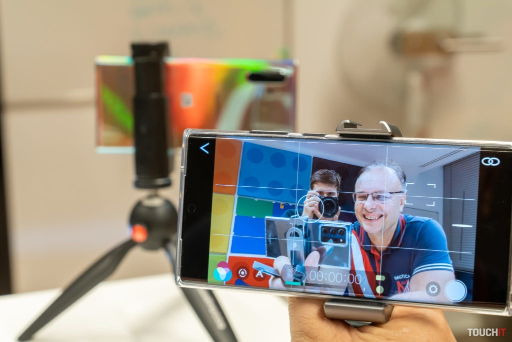 Realizácia videa pomocou smartfónu (FilmicPro)