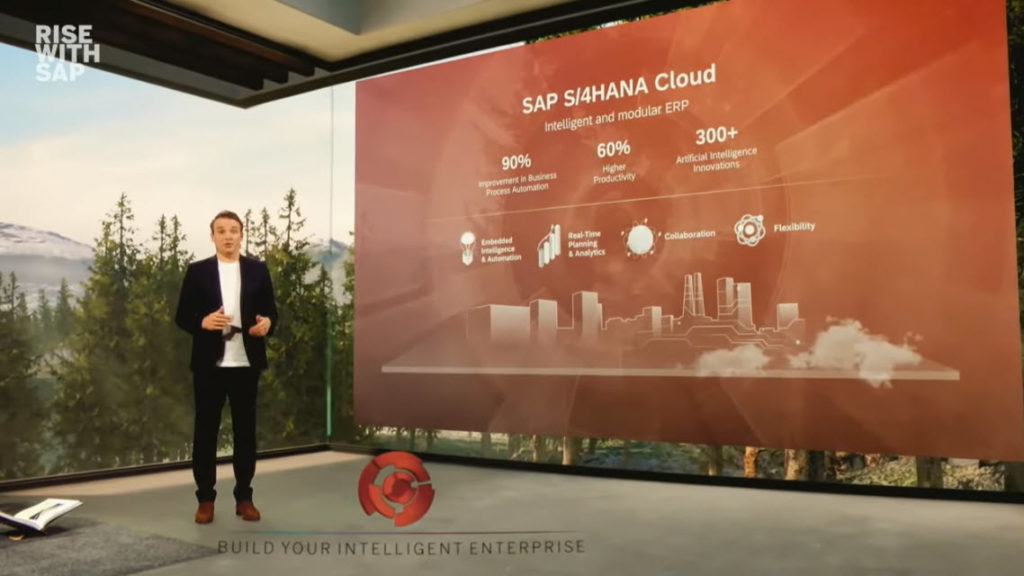 Prezentácia RISE wirh SAP, Zdroj: SAP
