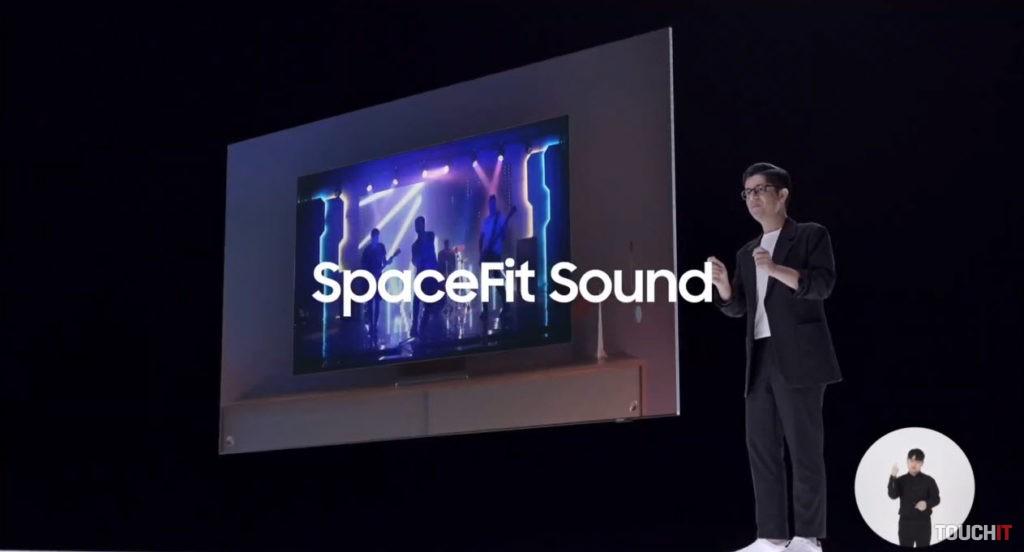 Technológia SpaceFit Sound má automaticky vyplniť priestor zvukom