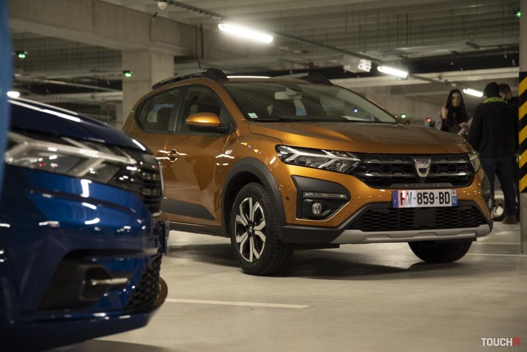 Dacia Sandero a Sandero Stepway