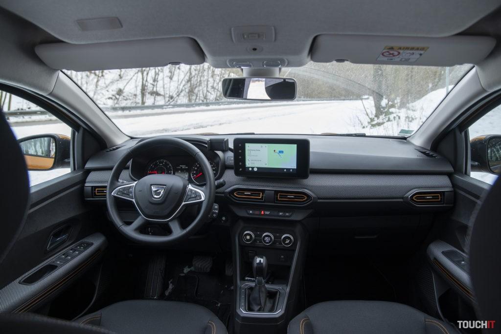 Vnútorný priestor v Dacia Sandero Stepway