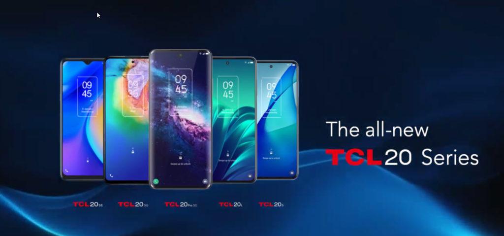 TCL 20 5G a TCL 20 SE