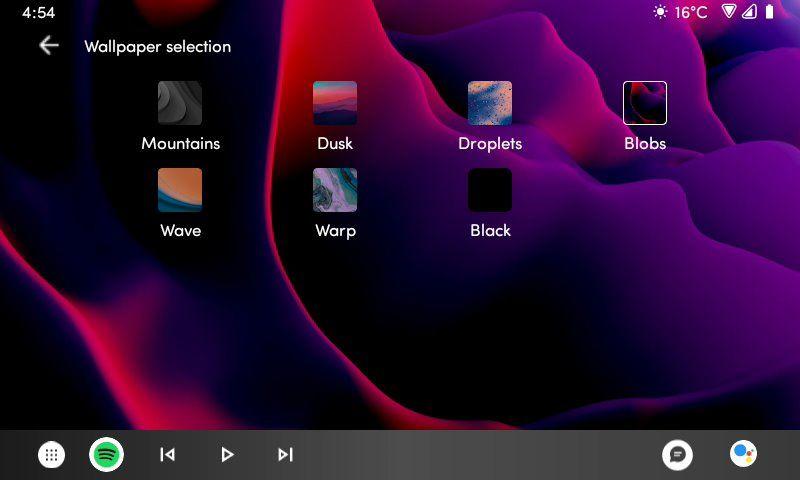 Nastavenie tapety pozadia v Android Auto 6.0