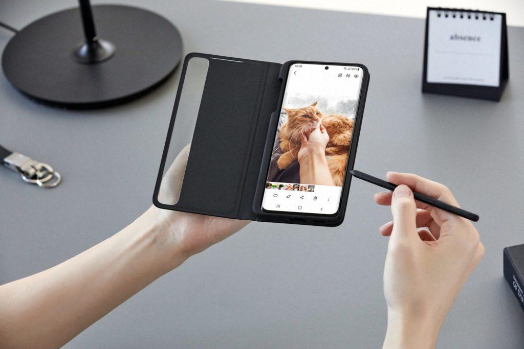 V prípade Galaxy S21 je súčasťou dodávky dotykové pero a dodatočný nákup obalu určite odporúčame