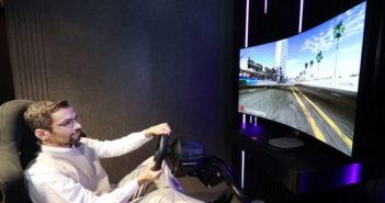 LG ukáže OLED displej s meniteľným zakrivením