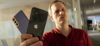 Samsung Galaxy S21 vs iPhone 12