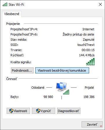windows wifi settings