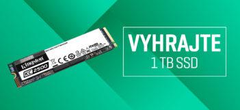 SÚŤAŽ: Vyhrajte 1TB SSD disk Kingston