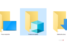 3D objects windows explorer