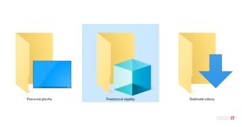 3D objects windows explorer