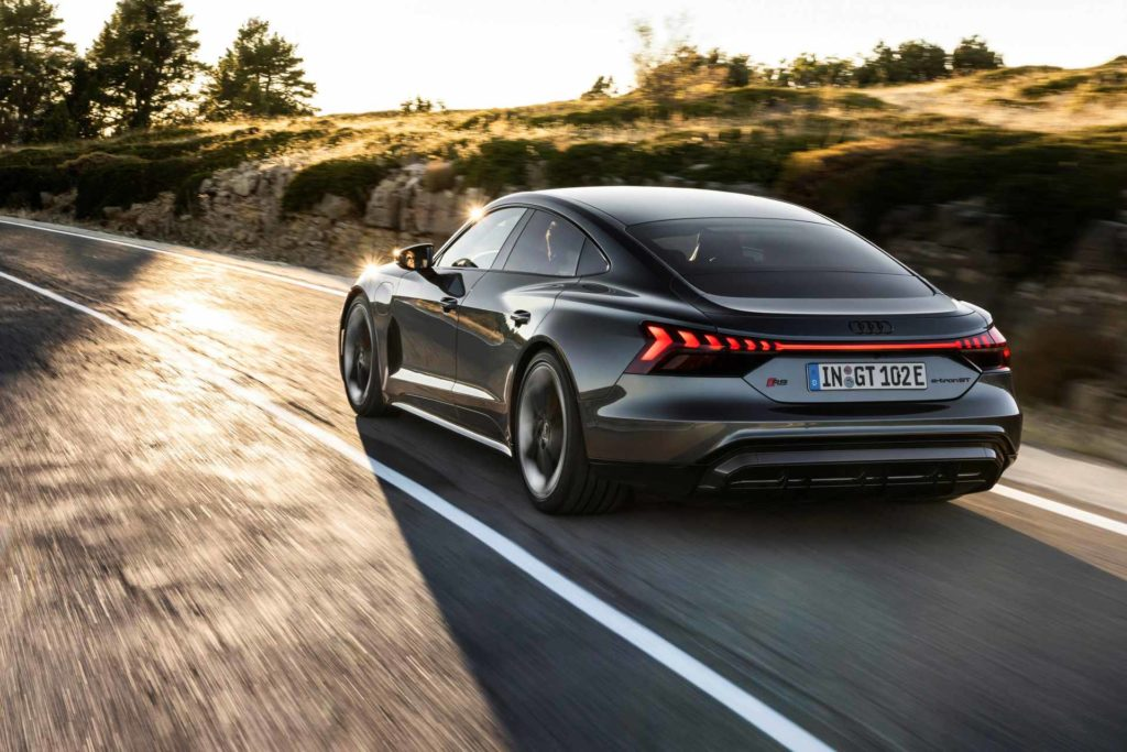 Audi e-Tron GT. Zdroj Audi