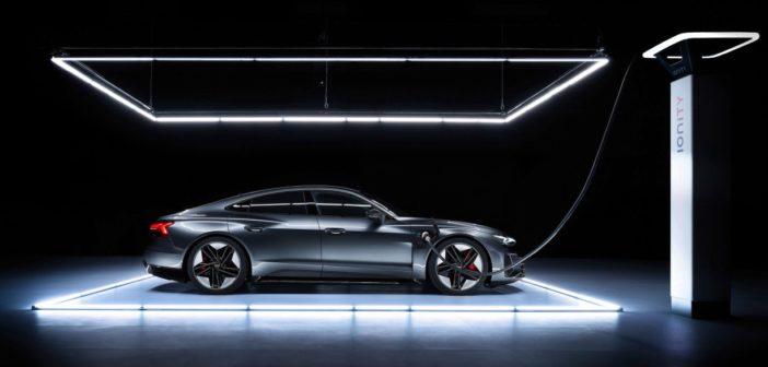 AudiE-Tron GT. Zdroj Audi