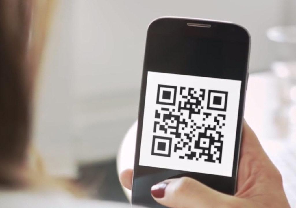 Takto by mohol vyzerať QR kód v mobile. Zdroj: TV Markíza
