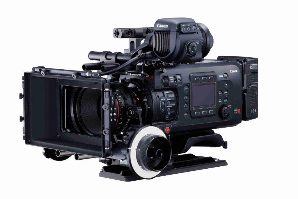 Kamera Canon C700, zdroj: Canon