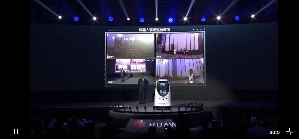Ryan Ding, Huawei predstavuje 5G2B na MWC v Shanghaji. Zdroj: Huawei