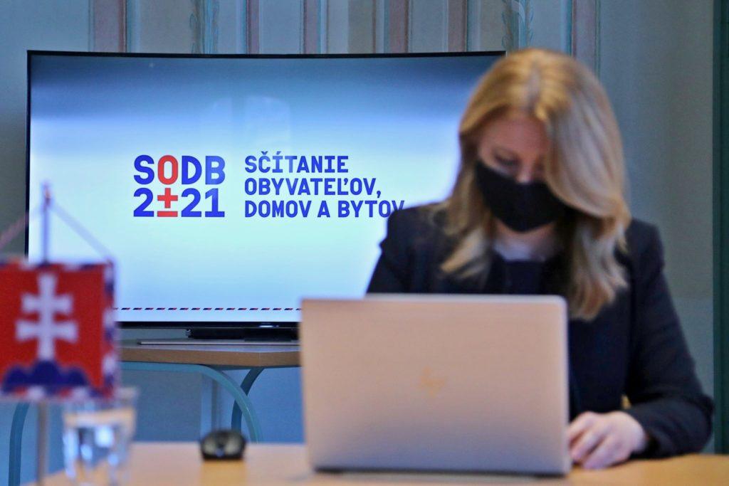 Medzi prvé osoby, ktoré sa sčítali patrí aj prezidentka, Zuzana Čaputová. Zdroj: Štatistický úrad SR