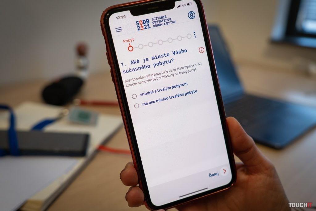 Vypĺňanie údajov do mobilnej aplikácie SOBD 2021. Zdroj: Ondrej Macko/TOUCHIT.sk