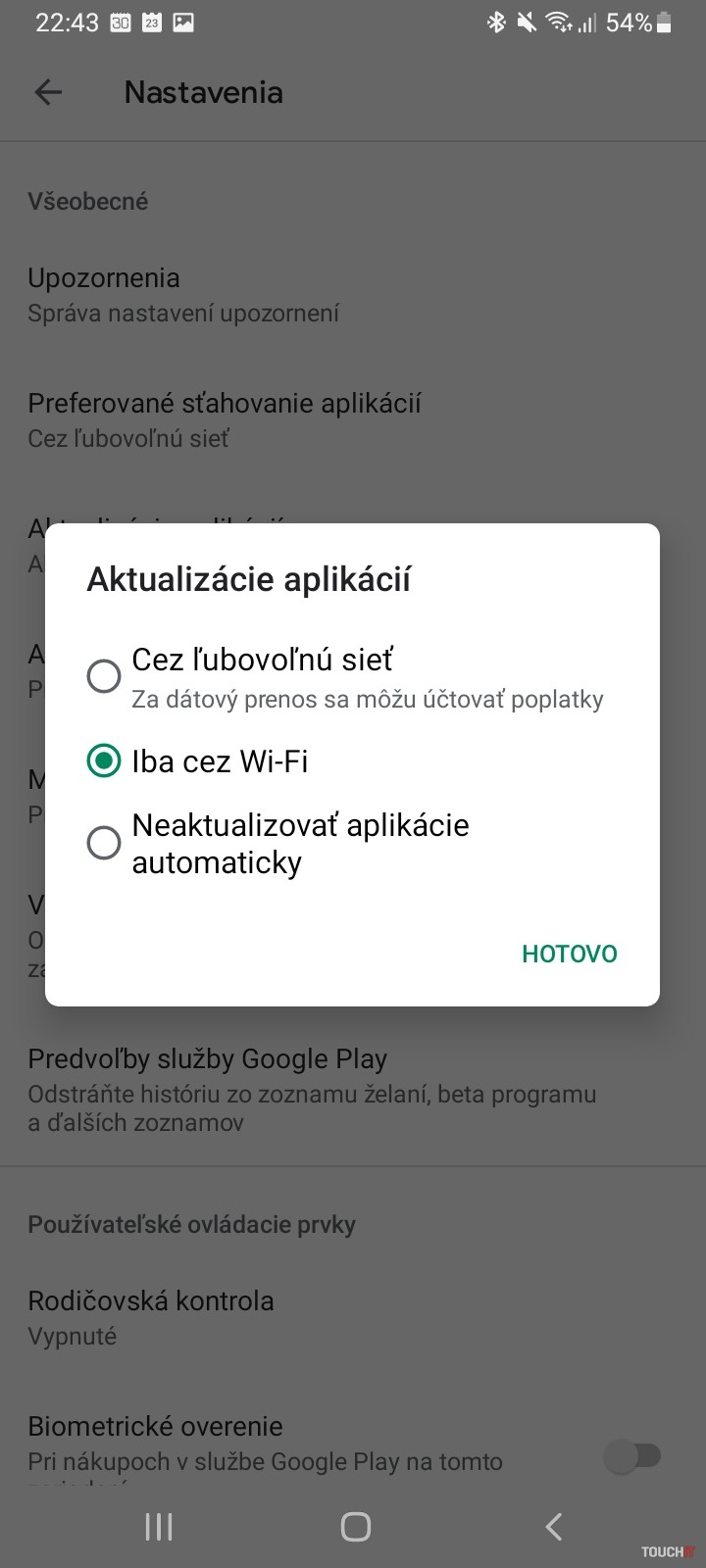 android apps update