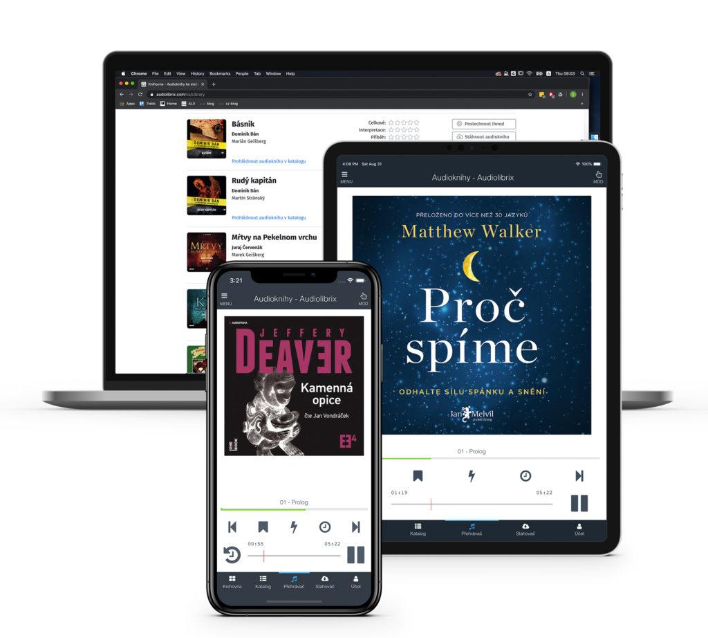 Audiolibrix aplikácia
