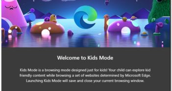 Microsoft Edge Kids Mode