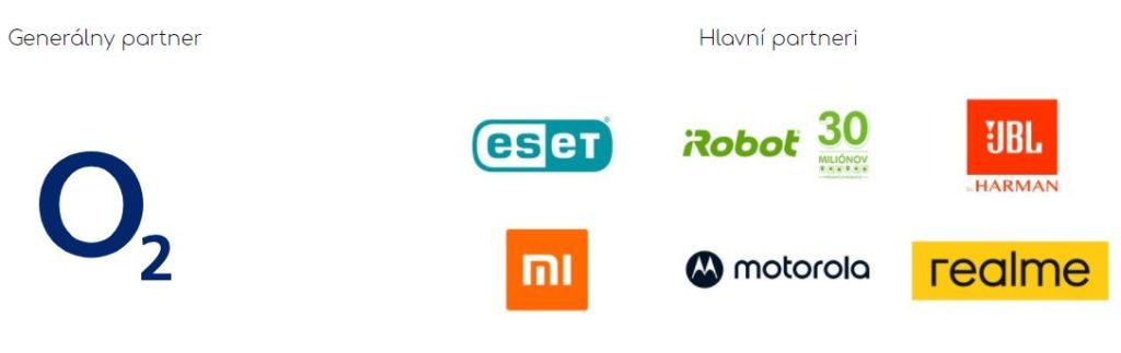 Mobil roka 2021 partneri